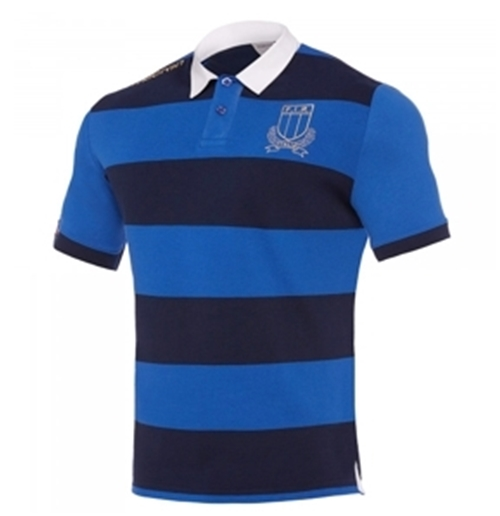Italia Polo Rugby Stripes