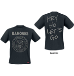 T-shirt Ramones da uomo - Design: Seal Hey Ho