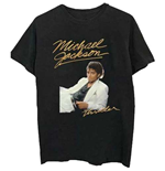 T-shirt Michael Jackson da uomo - Design: Thriller White Suit