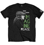 T-shirt John Lennon da uomo - Design: Imagine Peace