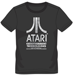 Atari - Entertainment Technologies Black (T-SHIRT Unisex )