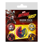 Ant-Man & The Wasp Badge Pack (Pin Badge Pack)