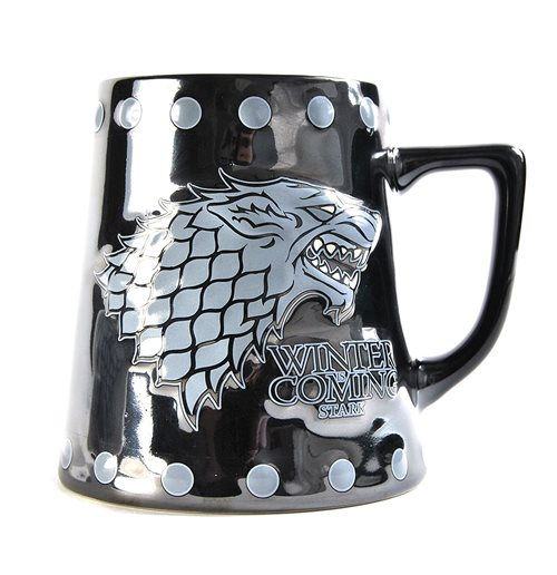 Game Of Thrones - Stark & Stud Relief (Boccale Piccolo)