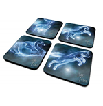 Harry Potter: (Patronus) Coaster Set (Set 4 Sottobicchieri)