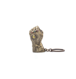 Marvel: Avengers: Infinity War - Thanos Fist 3D Metal Gold (Portachiavi)