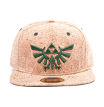 Nintendo: Legend Of Zelda (The) - Zelda Triforce Logo Cork Snapback (Cappellino)