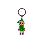 Nintendo: Zelda - Link With Movable Head Metal Multicolor (Portachiavi)