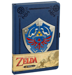 Nintendo: Zelda - Metal Shield Premium Journal A5 Pu Journal (Quaderno)