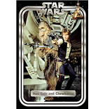 Star Wars: (Hans And Chewie Retro) (Poster)