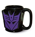 Transformers G1 (Decepticon Shield) Sculpted Mug (Tazza)
