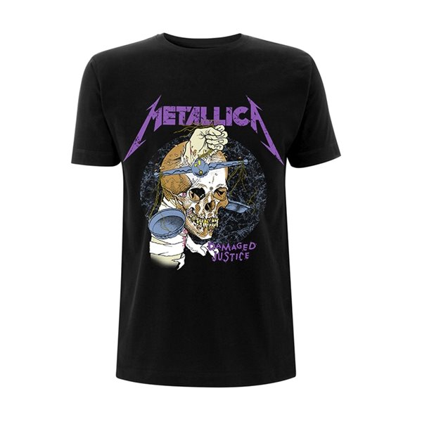 T-shirt Metallica DAMAGE HAMMER