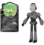 Funko Action Figure: - Rick & Morty - Rick (Purge Suit)