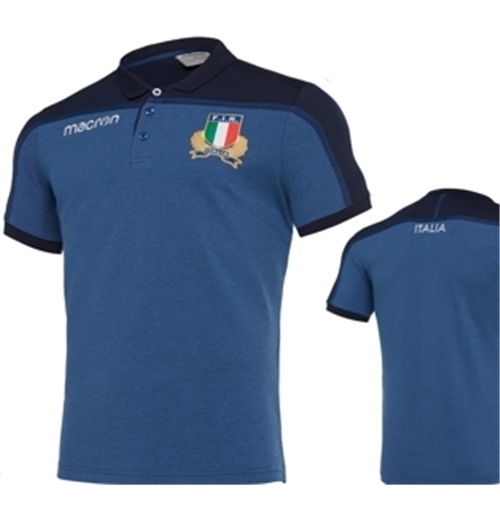 Italia Rugby Polo Pique Player 2019