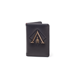 Assassin'S Creed Odyssey - Premium Metal Odyssey Badge Card Wallet Wallets Bifold M Black