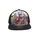 Super Mario - Odyssey Black/Blue Trucker Multicolor (Cappellino)