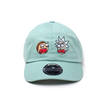 Rick And Morty - Dad Adjustable Green (Cappellino)