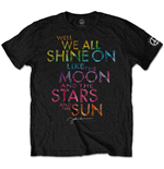 T-shirt John Lennon da uomo - Design: Shine On