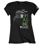T-shirt John Lennon da donna - Design: Imagine Peace