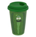 Rick And Morty (Pickle Rick) Travel Mug (Tazza Da Viaggio)