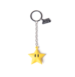 Nintendo - Superstar Rubber 3D Yellow (Portachiavi)