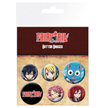 Fairy Tail - Characters (Badge Pack)