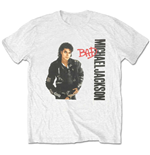 T-shirt Michael Jackson da uomo - Design: Bad