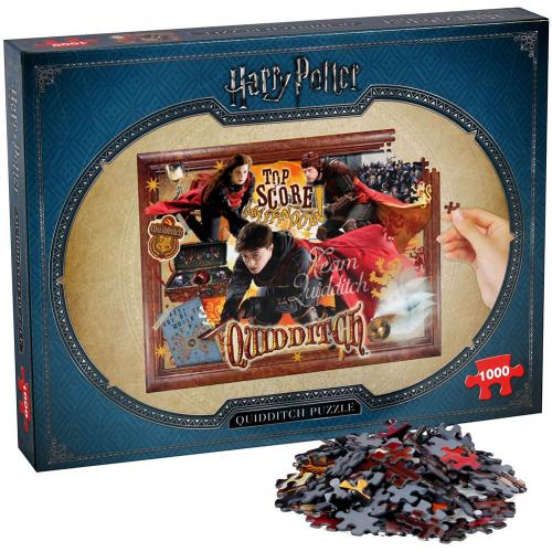 Puzzle Harry Potter <br>Harry Potter Quidditch Puzzle 1000pc