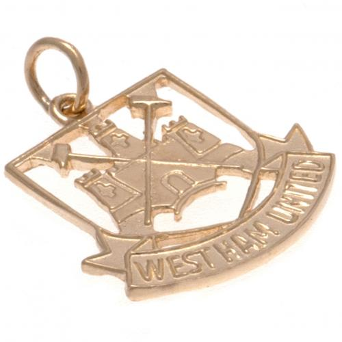 Pendente West Ham United <br>Castello pendente West Ham United FC 9ct Gold