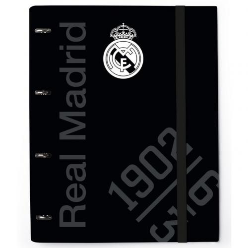 Block Notes Real Madrid <br>Raccoglitore ad anelli Real Madrid FC