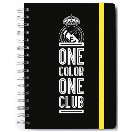 Block Notes Real Madrid <br>Taccuino del Real Madrid FC