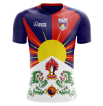 T-shirt Tibet calcio 2018-2019 Home