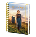 Doctor Who: A5 Wiro Notebook (13Th Doctor) (Quaderno)
