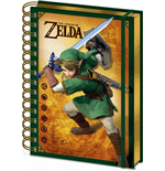 Nintendo: Legend Of Zelda (The) - 3D Lenticular Notebook (Quaderno Lenticolare 3D)