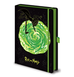 Rick And Morty (Portals) A5 Premium Notebook (Quaderno)