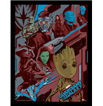 Guardians Of The Galaxy 2 - Galactic (Stampa In Cornice 30X40 Cm)