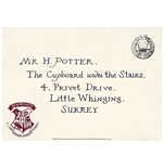 Harry Potter: Letters (Targa Metallica Piccola)
