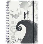 Nightmare Before Christmas (The): (Spiral Hill) A5 Wiro Notebook (Quaderno)