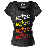 AC/DC: Powerage Repeat (T-SHIRT Donna )