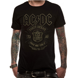AC/DC: Black Done Cheap (T-SHIRT Unisex )