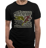 Dc COMICS: Flash Wings (T-SHIRT Unisex )