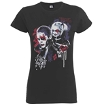 Dc COMICS: Suicide Squad HARLEY'S Puddin Dark Grey (T-SHIRT Donna )