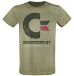 Commodore 64: 64K Vintage Green (T-SHIRT Unisex )