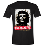 Che GUEVARA: Che Is Alive Black (T-SHIRT Unisex )