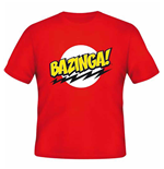 Big Bang Theory (THE): Bazinga Red (T-SHIRT Unisex )