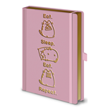 Pusheen (Eat. Sleep. Eat. Repeat.) A5 Premium Notebook (Quaderno)