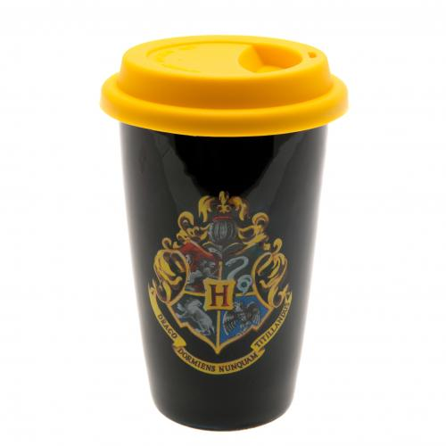 Tazza da viaggio Harry Potter <br>Tazza da viaggio in ceramica di Harry Potter