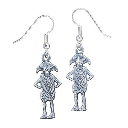Gioiello Harry Potter <br>Orecchini Harry Potter placcato argento Dobby