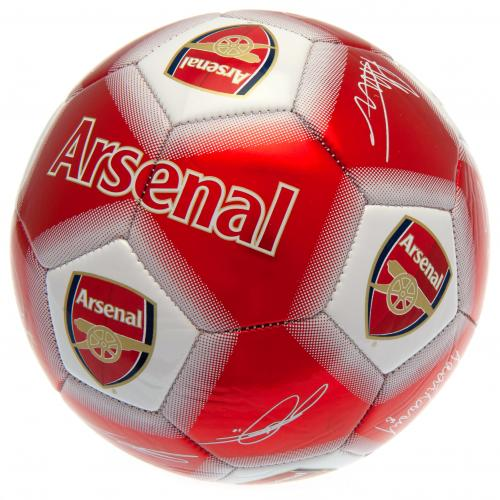Pallone calcio Arsenal <br>Firma del calcio dell'Arsenal FC