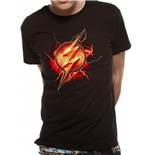 Dc COMICS: Justice League MOVIE: Flash Symbol (T-SHIRT Unisex )