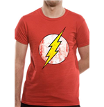 Dc COMICS: Flash (THE): Logo (T-SHIRT Unisex )